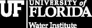 UF Water Institute White Logo